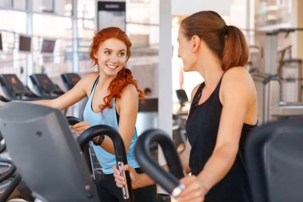 Women with Ellipticals