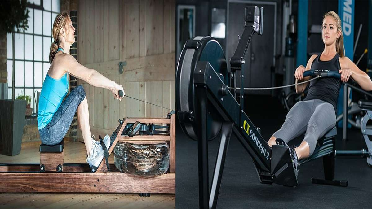 Water Rower Vs Concept 2